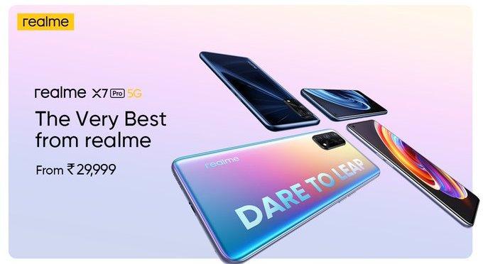 realme X7 series smartphones