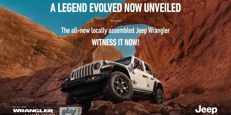 Made in India Jeep Wrangler