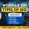 webinar on Types of SEO