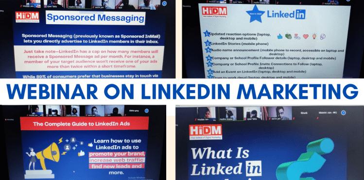 webinar for Linkedin Marketing jugaadin news