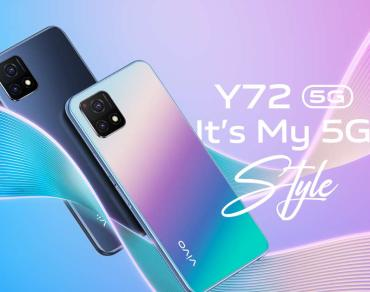 Vivo Y72 5G smartphone