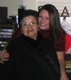 Lori Ramos _ her mom Lupe Vigil Smith