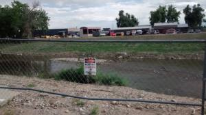 The St. Vrain river carved a new channel in Longmont as a result of the 2013 flood.
