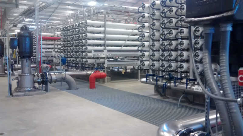 The City of Sterling spent $30 million on a water treatment plant that went operational in November 2014.