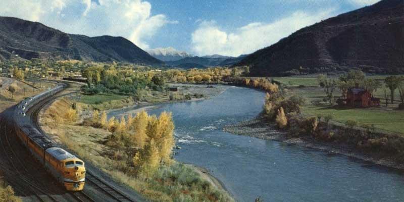 Colorado River and California Zephyr