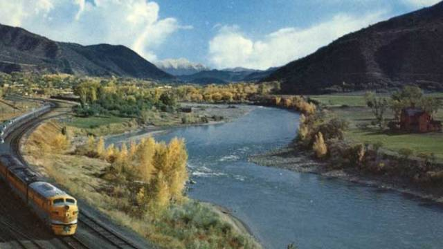 Colorado River and California Zephyr