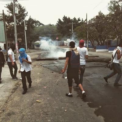 honduras student protest