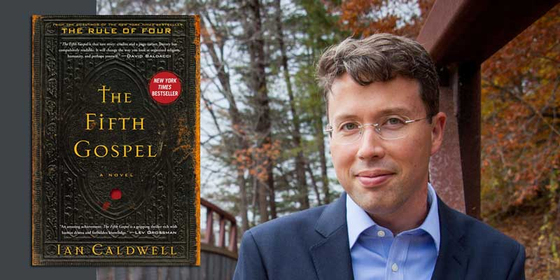 "Booktalk: Ian Caldwell and a Vatican thriller, ""The Fifth Gospel"""