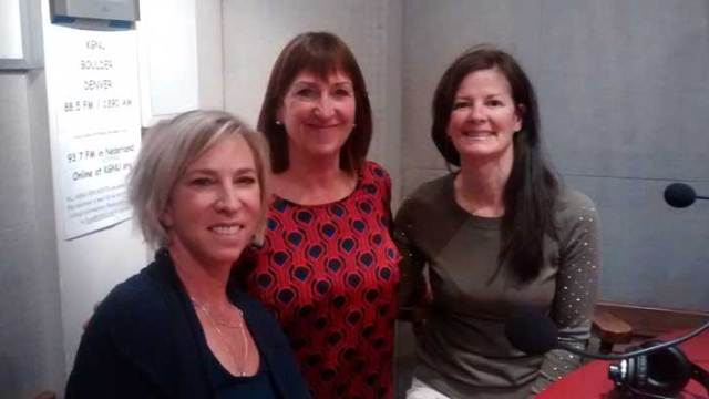 Sue Mackey, Kim Mooney, Bev Boyer