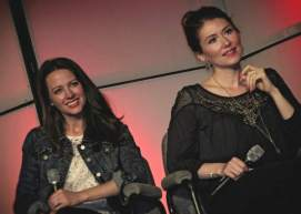 Amy Acker & Jewel Staite