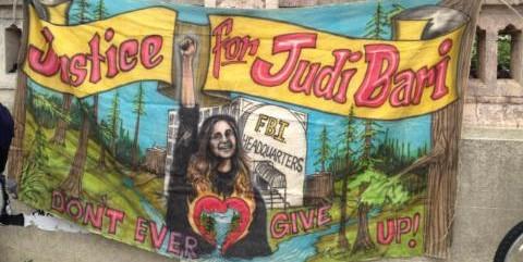 Judi Bari Banner