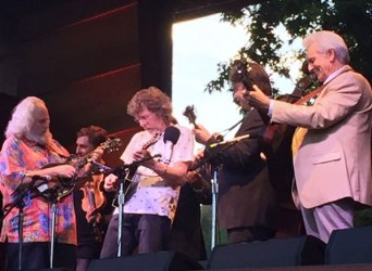 David Grisman, Sam Bush, Del McCoury