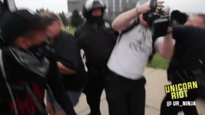 journalist arrest