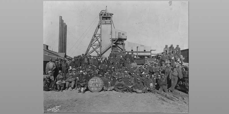 Erie Coal Mining Past