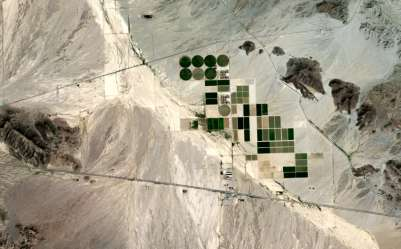 Saudi Farm in US Desert