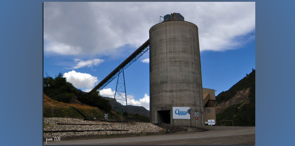 Coal Mine Near Paonia, CO