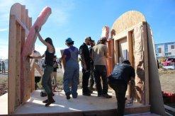 homeless resurrection village