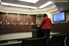 Sara-Jane Cohen asks Boulder City Council to testify in support of the 2016 Right to Rest Bill to be heard next week in the Colorado legislature.