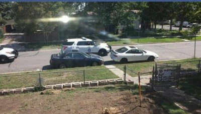 Community members have provided the Ronquillo family with recording equipment to document what they have reported as the regular appearance of police outside of their home.