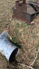 Headgate and irrigation tubes 2