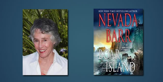 "Booktalk: Former National Park Ranger Nevada Barr talks about ""Boar Island"""