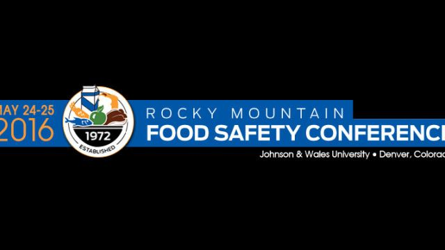2016 Rocky Mountain Food Safety Conference