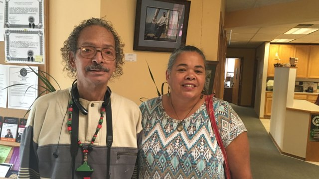 Sekou Kambui and Audri Scott Williams
