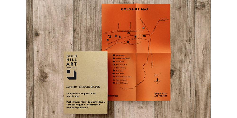Gold Hill Art Installation