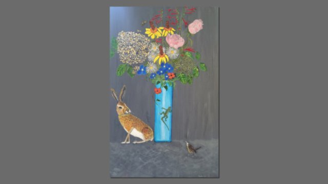 live-still-life_hare-and-flowers-feat