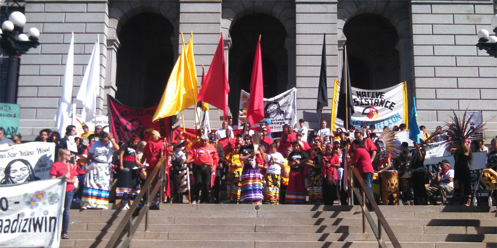 denver indigenous peoples march