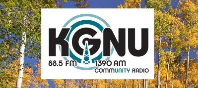KGNU Fall Banner