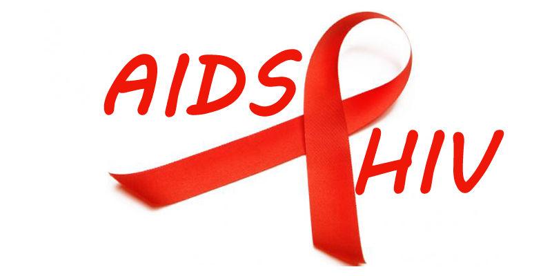 Aids HIV Ribbon