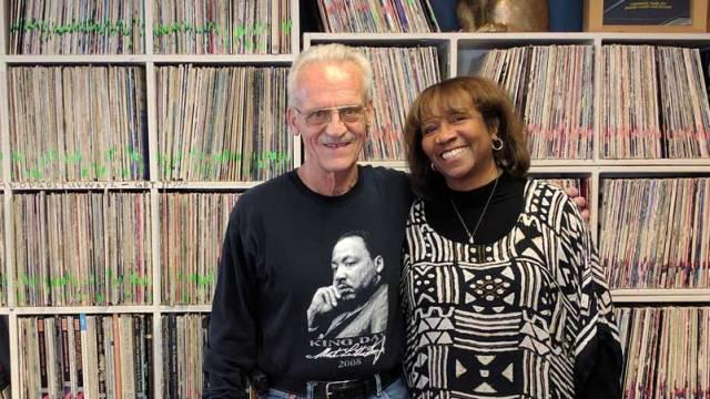 Glenda Robinson and Dennis Creese