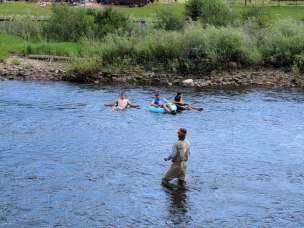Fly Fisher Tuber Yampa