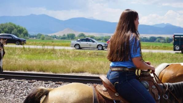Longmont police begin escorting the Lakota Riders through town