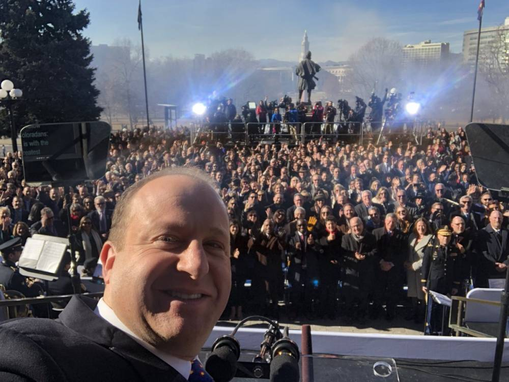 Jared Polis Inauguration