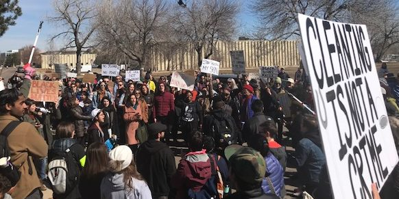 March and Rally Follow Racial Profiling Incident in Boulder
