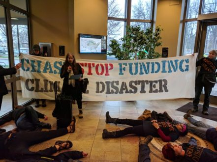 Neshama Abraham, a customer of Chase Bank in Boulder who was divesting a $200,000 investment fund from the bank.