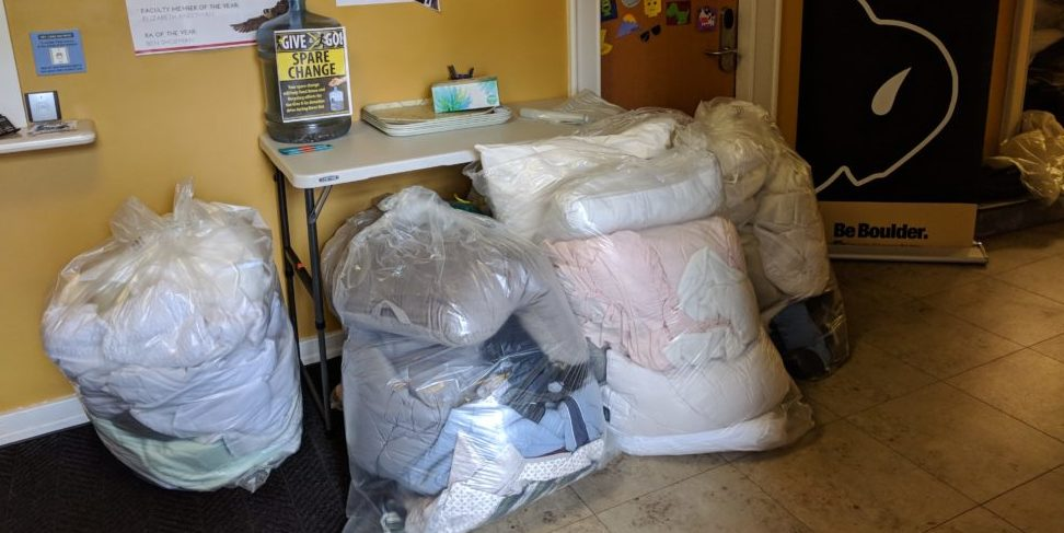 Working to Divert Waste from Landfills in Annual College Dorm Clean-out