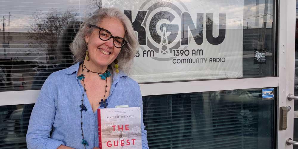Author Sarah Blake