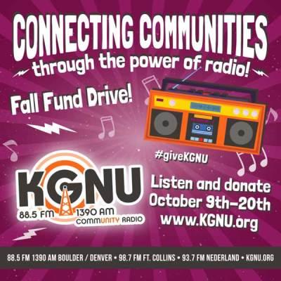 Donate to KGNU