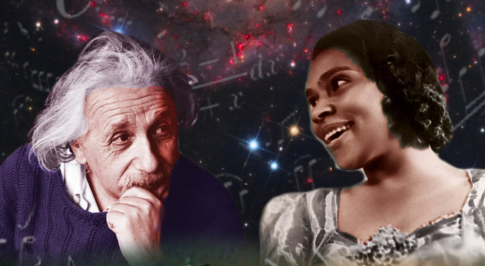 """Secrets of the Universe And Other Songs"", a Surrealist Take on Historic Relationship Between Einstein and Marian Anderson, Now Playing at Aurora Fox"