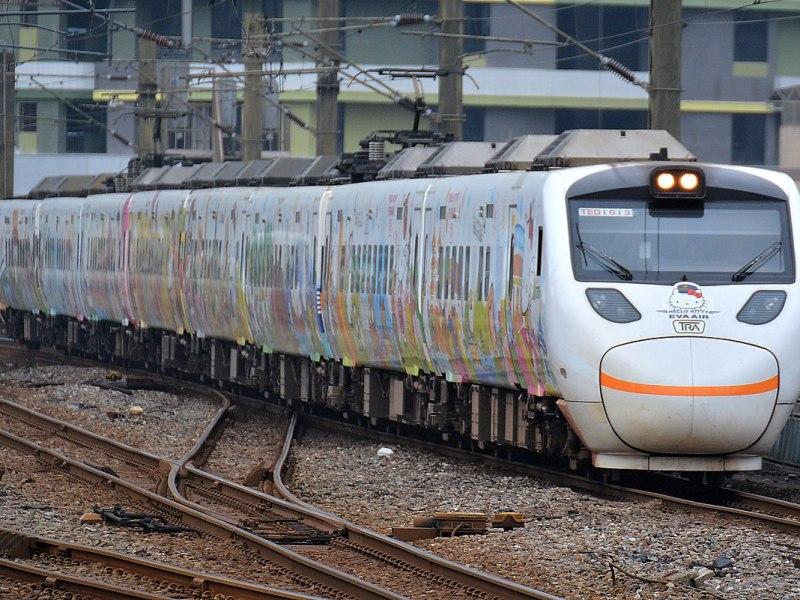 台鐵太魯閣號列車 / Photo Credit: Cheng, Cheng-en