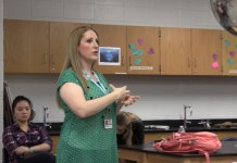 Scientist Turned Educator Named Secondary Teacher of the Year