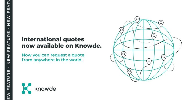 New Features Including International Quotes