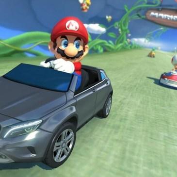 Mario Kart 8: Klempner fahren jetzt Benz!