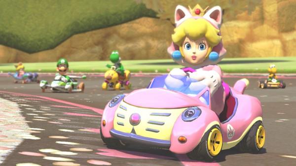 Mario Kart 8 Peach