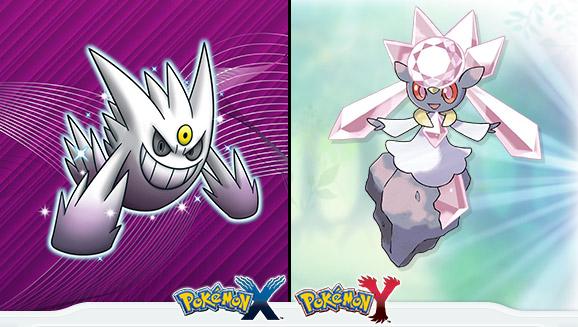 Pokemon - Shiny Gengar und Diancie