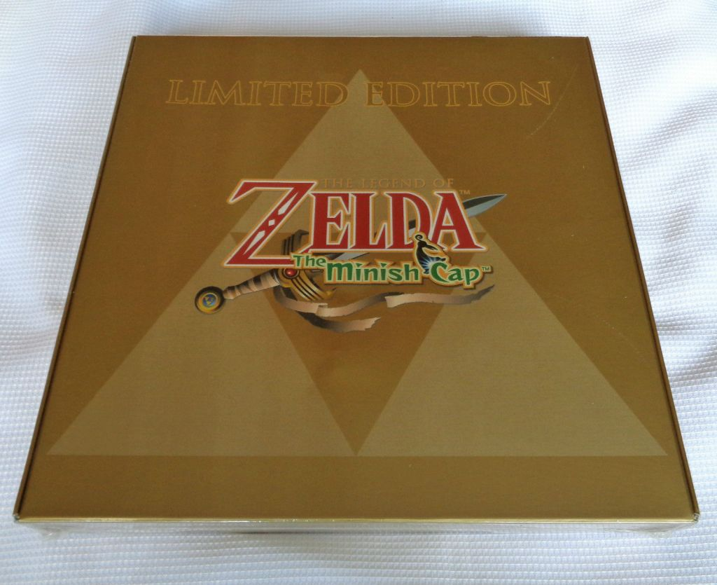 GameBoy Advance SP The Legend of Zelda Minish Cap Limited Edition