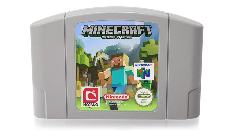 Minecraft Auf Dem N Konsolenkost News - Minecraft spiele fur nintendo
